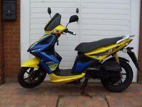** 2009 50cc Kymco Super 8 Scooter **