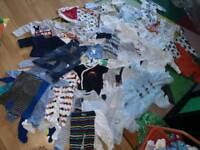 Baby boy cloths bundle 0-3 months