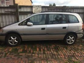 vauxhall zafira for spares and parts