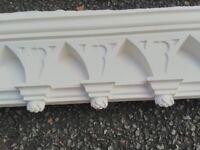 Rare designer plaster coving