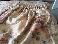 Laura Ashley vintage curtains. Interlined, quite heavy beautifully made over £800.00 new.