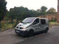 2007 2.0 diesel 115bhp Renault Trafic Camper van or crew cab 128K miles like Vivaro and Primastar