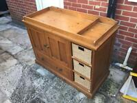 Mamas & Papas Longhouse Solid Pine Changing Table Unit