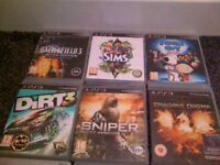 PS3 games £4.00 each