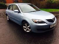 FULL YEAR MOT++MAZDA 3 1.6 TS 5 DOOR