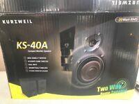 Kurzweil KS-40A Speaker Brand New