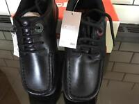 Boys kickers size1, new with labels, school shoes