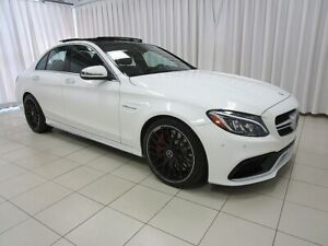 2016 Mercedes Benz C63 C63 S RARE AMG S PACKAGE V8 BI TURBO