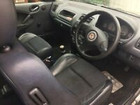MG ZR 104 3 Door X-Power Grey