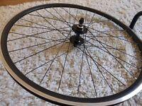 Black Vera Corsa Front & Back wheel + Handlebar + Saddle - Very good condition