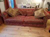 For sale.Duresta 3 seater sofa and 2 chairs