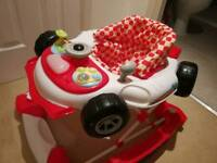 Formula One Racing Car baby walker rockers