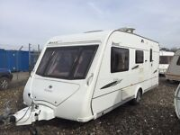 Elddis avante 524 2008 modell end wash room with seprate toilet and full size walk in