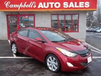 2013 Hyundai Elantra LIMITED!! SUNROOF!! HEATED LEATHER!! BACK U