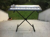 Casio LK230 keyboard /w microphone, stand and power cord