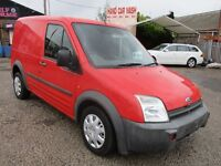 2006 06 FORD TRANSIT CONNECT L200 SWB RED EX ROYAL MAIL 1 FORMER KEEPER SIDE DOOR FULL MOT PX SWAPS