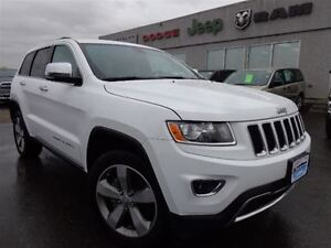 2015 Jeep Grand Cherokee Limited--Back-up Camera & Sensors--High