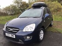 57 REG KIA CARENS GS CRDI 7 SEATER DIESEL ONLY 48K REDUCED TO ONLY £2499
