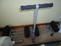 """""""Leg Master"""" - leg excerciser, folds for storage, as new"""