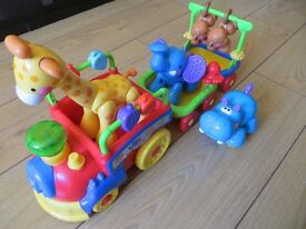*** Fisher Price Amazing Animals Choo-Choo Train *** Excellent condition *** Free Delivery