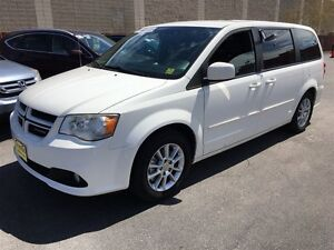 2012 Dodge Caravan R/T, Automatic, TV/DVD, Power Sliding Doors,