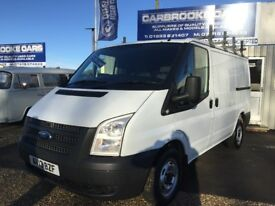 2013 13 FORD TRANSIT SWB T260 - 95,000 FSH - 12 MONTHS MOT - SERVICED - WARRANTY - NO VAT -