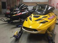 Mach1 700 and MXZ 600