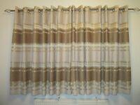 Pair of Dunelm eyelet curtains