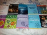 GCSE BOOKS MATHS SCIENCE ETC