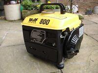 generator wolf power 800 portable