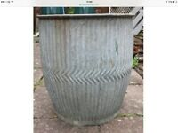 Dolly tub canon buff chimney millstone concrete LAST DAY