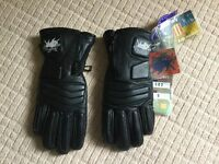 Motorcycle clothing- ladies leather gloves