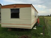 Mobile home perfect for self build project