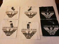 Armani & stone island tshirts