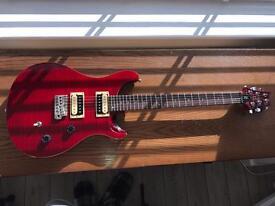 PRS SE Custom 24 in red Electric guitar