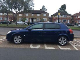 Vauxhall signum diesel 2 previous owner £740
