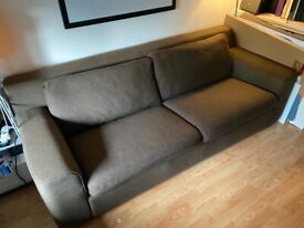 Three seater sofa bed for sale — Chiswick, W4 (price reduced)
