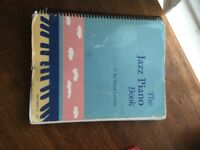 Piano keyboard jazz book
