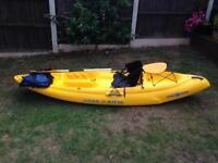 Ocean sit on top kayak