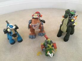 Imaginext Dinosaurs bundle of 4