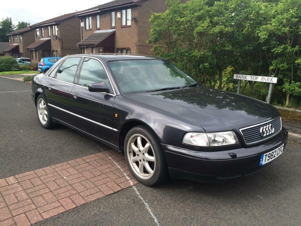 1999 audi a8 2 8 sport auto 12 months mot low milage. Black Bedroom Furniture Sets. Home Design Ideas