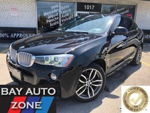 2015 BMW X4 xDrive35i M SPORT PKG+NAVI+REAR CAMERA+SUNROOF