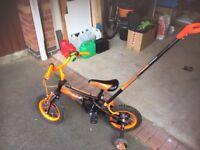 Child's Bike with Handle