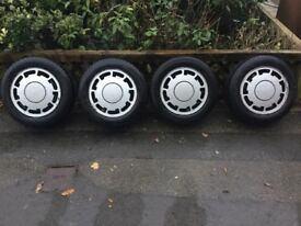 Vw P slot allot wheels and tyres