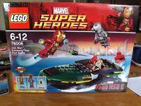Lego Super Heroes Set 76006 - Extremis Sea Port Battle