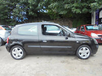 RENAULT CLIO 2003 ALLOYS/AIR CON/CD LONG MOT CHEAP TO TAX & INSURE -WE CAN DELIVER TO YOU