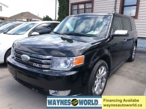 2009 Ford Flex Limited **NAVI & DVD 8 LEATHER**
