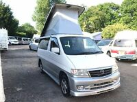 1998 Mazda Bongo 4 berth BRAND NEW FULL SIDE CONVERSION 2.5 TD 4WD AFT