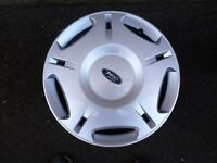 Set of 4 17'' Steel wheels and trims to fit Mk3 Mondeo as new with wheel nuts