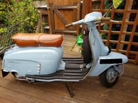 Lambretta LI 125 1966 Sky Blue Great Condition